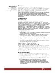 nursing professional resume objective cipanewsletter professional resume summary nurse new grad nursing resume nurse