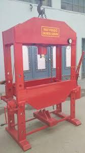<b>Manual</b> Hand <b>Hydraulic</b> Press Machine 100 Tons - Ranjit <b>Hydraulics</b> ...
