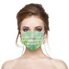 <b>Disposable Color Safety Mask</b> Dust-Proof Breathable Non-Woven ...