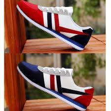 <b>Men's Fashion</b> Canvas Shoes Sport Running Sneakers <b>Casual Flat</b> ...