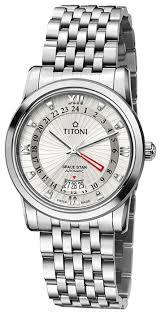 Наручные <b>часы Titoni 94738</b>-<b>S</b>-<b>377</b> — купить по выгодной цене ...