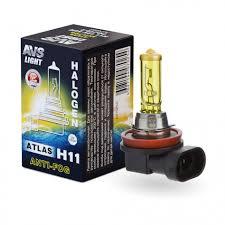 Галогенная <b>лампа AVS</b>/<b>ATLAS ANTI-FOG</b>/BOX желтый H11.12V ...