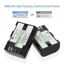 2 аккумулятора + <b>зарядное устройство Powerextra</b> LP-E6: купить ...