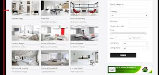 luxury apartments joomla real estate website template featured properties section of joomla real estate template