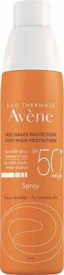 <b>Солнцезащитный спрей</b> SPF50+   Термальная вода Авен