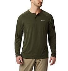 <b>Men's Long Sleeve Shirts</b>   Columbia Sportswear
