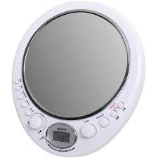 shower radio review guide x:  jensen am fm alarm clock shower radio with fog resistant mirror