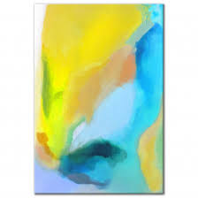 <b>Blue & Yellow Abstract</b>