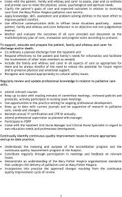 job description palliative care registered nurse pdf apply knowledge skill assessment and problem solving abilities in the team effort to