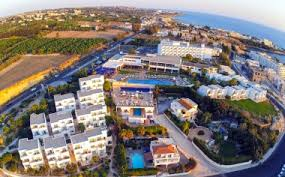 Отель THEO SUNSET BAY HOLIDAY VILLAGE 4*, Пафос / Paphos ...