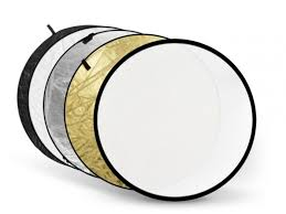 <b>Светоотражатель Fujimi</b> 60cm FJ 702 5 in 1 White Gold Silver ...