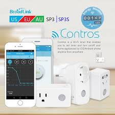 2018 new broadlink sp3s power meter smart wireless wifi socket plug 16a 3500w with energy ios android remote control