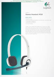 <b>Stereo Headset H150</b>