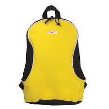 """<b>Рюкзак STAFF</b> """"<b>Flash</b>"""", универсальный, желтый, <b>40х30х16</b> см ..."""