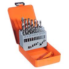 <b>Набор сверл</b> 19пр 1.5 - 10мм в <b>метал</b>. коробке в магазинах ...