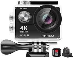 AKASO EK7000 4K WiFi Sports Action Camera Ultra ... - Amazon.com