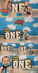 <b>One</b> Year <b>Superhero</b> Cake Smash - Ft. Myers <b>Child</b> Photographer ...