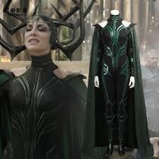 <b>Thor Ragnarok</b> Hela <b>Costume</b> Deluxe Jumpsuit <b>Cosplay</b> | Costumes ...