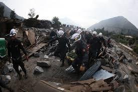 Resultado de imagen para huayco sepulta vivienda
