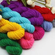 300g/Bag Nine Colour Deer Happy Childhood Yarn Hand woven ...