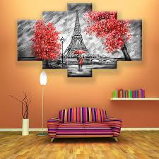 <b>Full square Drill 5D</b> DIY Diamond Painting love couple red tree dark ...
