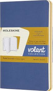 <b>Блокнот Moleskine Volant</b>, QP711B41M17, синий, желтый, 40 ...