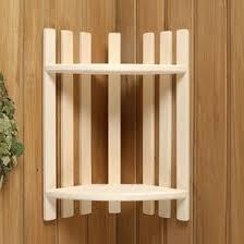 <b>Полка</b> деревянная, <b>угловая</b>, <b>двухуровневая</b> (4901831) - Купить по ...