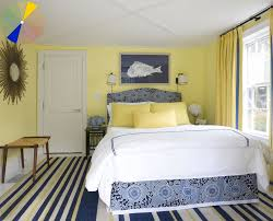 blue yellow bedrooms bedroom decorating