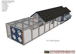 Poultry house plans pdf   VenpaLarge Chicken Co op Plans
