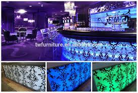 tw tw strc 0010 modern white color led reception desk modern white color led acrylic lighted reception desk reception counter design