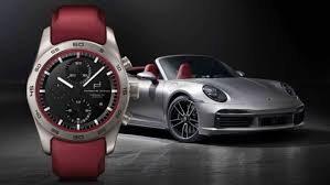 A <b>Porsche Design</b> chronograph designed for personal aesthetic taste