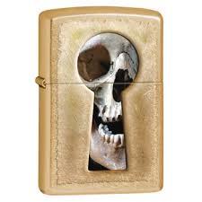 <b>Зажигалка Zippo</b> 28540 <b>Keyhole</b> Skull Gold Dust|Zippo-zippo.ru ...