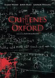 Resultado de imagen de los crimenes de oxford libro