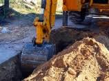 Резултат слика за радови на постављању канализације отпадних вода