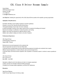 sample resume for truck driver sample resume for truck driver karina m tk