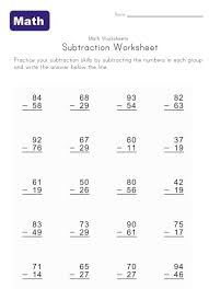 Worksheets, 2nd grades and Math on Pinterestsubtraction with borrowing worksheets