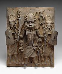 ways of recording african history  essay  heilbrunn timeline of  plaque warrior and attendants