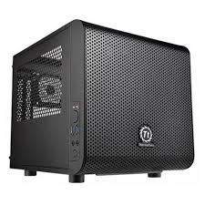 <b>Корпус miniITX</b> THERMALTAKE Core V1, <b>Mini-Tower</b>, без БП ...