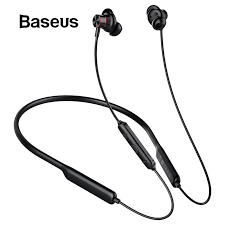 <b>Baseus S12</b> Necklace Bluetooth Earphone with Mic IPX5 Waterproof ...