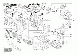 Запчасти для <b>лобзика Bosch GST</b> 120 BE (0601511603). SelTop.ru