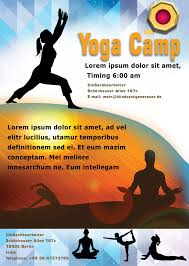 distinctive yoga flyer templates for professionals demplates yoga flyer template 3