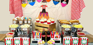 Carnival <b>Party</b> Ideas | <b>Circus Party</b> Ideas at <b>Birthday</b> in a Box