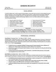 work resume examples social work  seangarrette co  social worker resume sample    work resume examples