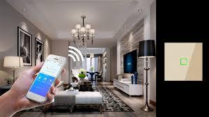 <b>EU Standard</b> 1 Way Wifi Remote Control Type Wall Light Controller ...