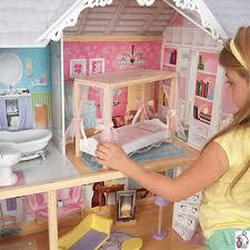<b>Трехэтажный дом из</b> дерева для Барби <b>KidKraft</b> Кайли 65869_KE ...