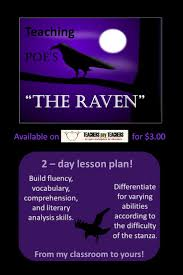 best images about teaching the raven poe toaster a multi faceted lesson plan for teaching poe s the raven
