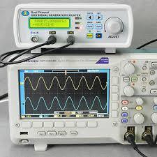 Digital DDS Dual-channel <b>Signal Generator</b> Source <b>Frequency</b> ...