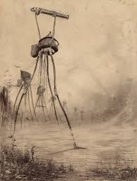 horrifying illustrations of h g wells war of the worlds war5