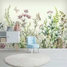 <b>Milofi custom wallpaper</b> mural Nordic minimalist small fresh hand ...
