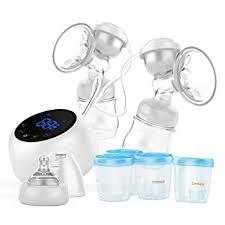 cmbear Double Electric Breast Pump, Portable ... - Amazon.com